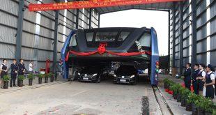 China constrói autocarro gigante para ultrapassar trânsito