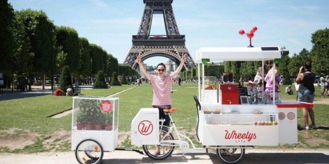 wheely's cafetaria sobre rodas