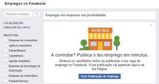 emprego pelo facebook pme magazine