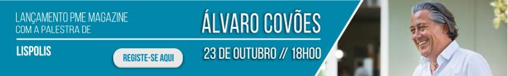 Álvaro Covões na apresentação da PME Magazine a 23 de outubro