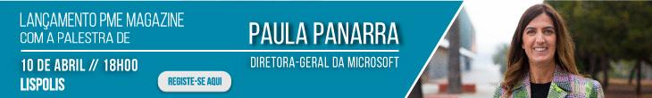 Lançamento 12.ª edição da PME Magazine com Paula Panarra - 10 de abril