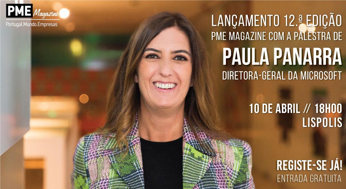 convite pme magazine paula panarra