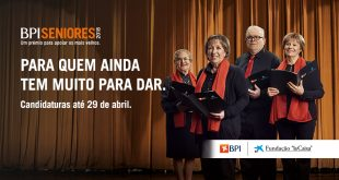"Abertas as candidaturas ao Prémio BPI ""la Caixa"" Seniores"
