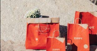 Zippy substitui plástico por sacos e envelopes de papel reciclado