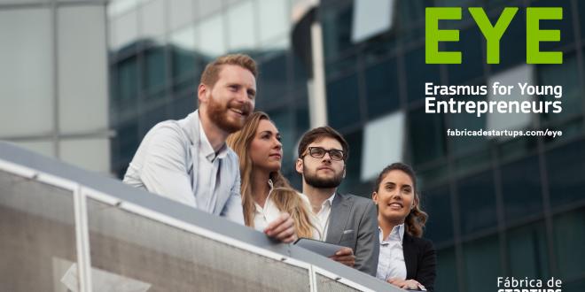 Fábrica de Startups associa-se ao Erasmus for Young Entrepreneurs