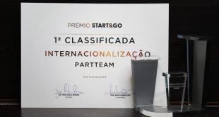 Partteam & Oemkiosks vencedora do prémio Start & Go