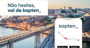 Kapten chega à cidade do Porto