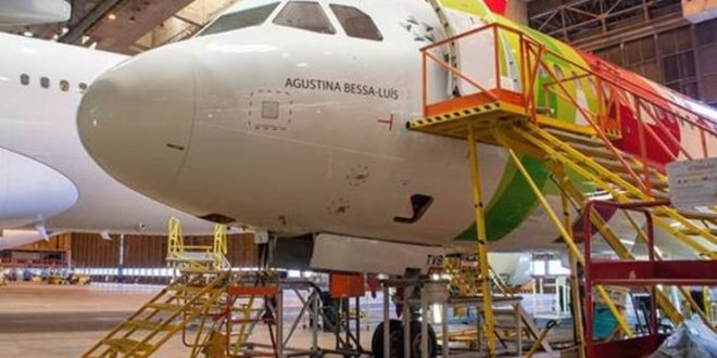 """""""Agustina Bessa-Luís"""" dá nome a novo aviao da TAP"""