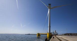 Windfloat Atlantic parque eólico flutuante