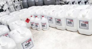 reinventar álcool gel