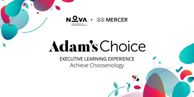 mentoria Crónicas PME Magazine sobre o programa Adams Choice