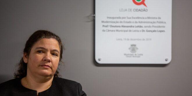 Alexandra Leitão, ministra da Modernização do Estado e Administração Pública Função Pública