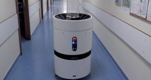 Robot UV desinfeção Portugal Covid-19