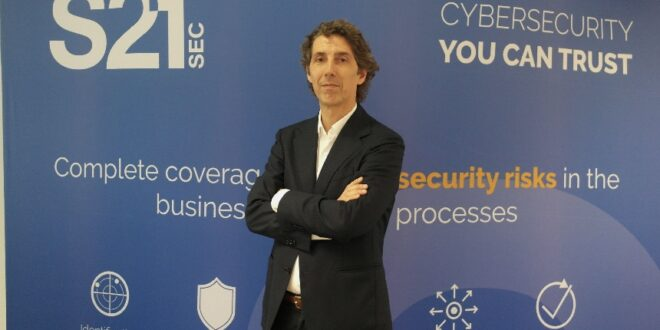 João Machado Costa, VP Sales Portugal na S21sec