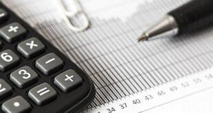 Calculadora Caneta Economia Gráfico