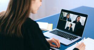 teletrabalho reuniões computador covid-19