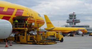 DHL Express avião aviação economia companhia aérea aeroporto