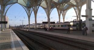 IP Infraestruturas de Portugal CP-Comboios de Portugal greve trabalhadores gare do oriente comboios