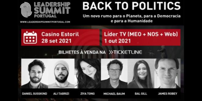 Leadership Summit Portugal casino do Estoril cartaz oradores